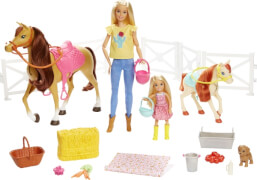 Mattel FXH15 Barbie Hugs 'N' Horses (blond)