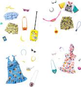 Mattel GJG28 Barbie Fashions Komplettes Outfit & Accessoires (Licensed) Sortiment
