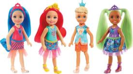 Mattel GJJ93 Barbie Chelsea Fantasy Puppen Sortiment