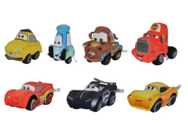 Disney Cars 3, 17cm, 7-sort.