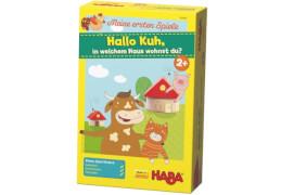 HABA Meine ersten Spiele  Hallo Kuh, in welchem Haus wohnst du