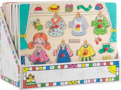 Beeboo Anziehpuzzle Mädchen & Junge 7Teile