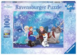 Ravensburger 10911 Puzzle Disney Frozen - Die Eiskönigin - Eiszauber, 100 Teile