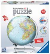 Ravensburger 124350 Puzzleball: Globus deutsch, 540 Teile