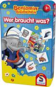 Schmidt Spiele 51408 Benjamin Blümchen, Wer braucht was?, 1 bis 6 Spieler, ab 3 Jahre