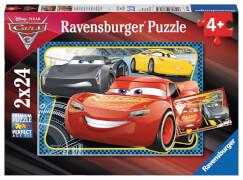 Ravensburger 07816 Puzzle Abent.m.Light.McQueen 2x24 Teile