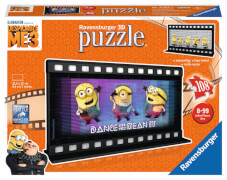 Ravensburger 112142 Puzzleball  Filmstreif.Despic.Me 3 108 Teile