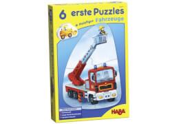 HABA 6 erste Puzzles  Fahrzeuge