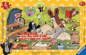 Ravensburger 06151 Puzzle: Der Maulwurf und seine Freunde 15 Teile