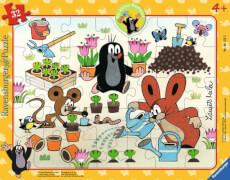 Ravensburger 61532 Puzzle: Der kleine Maulwurf hat Spaß,30 Teile