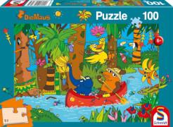 Schmidt Spiele Puzzle Im Dschungel, 100 Teile