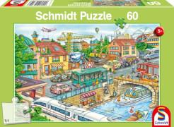Schmidt Spiele Puzzle Fahrzeuge und Verkehr 60 Teile