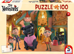 Schmidt Spiele Puzzle Die Heinzels Bei den Heinzels ist was los! 100 Teile