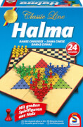 Schmidt Spiele 49217 Classic Line Classic Line Halma, 1 bis 4 Spieler, ab 8 Jahre