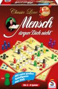 Schmidt Spiele 49085 Classic Line Mensch Ärgere Dich Nicht, 2 bis 4 Spieler, ab 6 Jahre