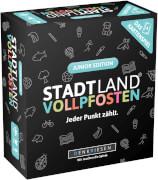 STADT LAND VOLLPFOSTEN: Das Kartenspiel # Junior Edition