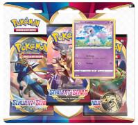 Pokémon Schwert & Schild 01 3-Pack Blister