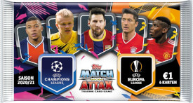 Champions League Match Attax Booster 2020/2021