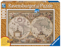 Ravensburger 19004 Puzzle Antike Weltkarte 1000 Teile