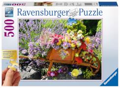 Ravensburger 13685 Puzzle: Blumenarrangement 500 Teile