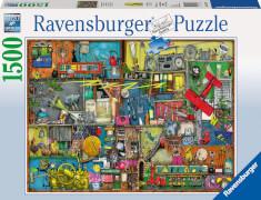 Ravensburger 163618 Puzzle: Das Krachmacher Regal 1500 Teile