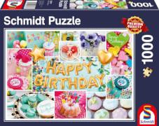Schmidt Spiele Puzzle Happy Birthday 1.000 Teile