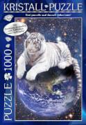 M.I.C. Kristall Puzzle 1000 Teile Motiv: World of Discovery mit Swarovski Kristallen