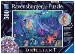 Ravensburger 14993 Puzzle: Bezaubernde Meerjungfrau 500 Teile