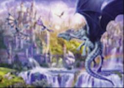 Ravensburger 15252 Puzzle: Drachenschloss 1000 Teile