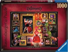 Ravensburger 15026 Puzzle: Villainous:Queen of Hearts 1000 Teile