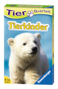 Ravensburger 20423 Quartett Tierkinder