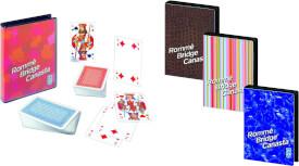 Ravensburger 270750 Rommé, Canasta, Bridge, Designs sortiert, Kartenspiel