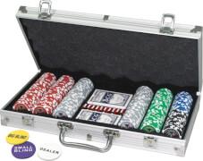 Pokerkoffer 300 Laser-Chips 11,5g