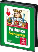 ASS Patience Senioren, französisches Bild. Kartenspiel