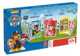 ASS Paw Patrol - Spielebox. Kartenspiel