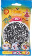 HAMA 207-62 Bügelperlen Midi - Silber 1000 Perlen, ab 5 Jahren
