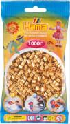 HAMA 207-61 Bügelperlen Midi - Gold 1000 Perlen, 1000 Perlen, ab 5 Jahren