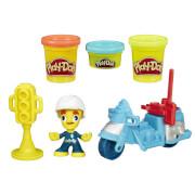 Hasbro Play-Doh Town Kleine Fahrzeuge