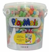 PlayMais 1000 Eimer + Animals Buch