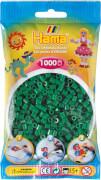 HAMA 207-10 Bügelperlen Midi, grün 1.000 Stück, ab 5 Jahren