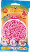HAMA 207-48 Bügelperlen Midi - Pastell Pink 1000 Perlen, ab 5 Jahren