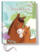 NICI Soulmates Freundebuch mit Pferd Flower und Fohlen Little