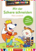 Lernerfolg Vorschule: Mit der Schere schneiden - Lernblock