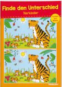 Finde den Unterschied Tierkinder, Rätselheft, 28 Seiten, ab 6 Jahren