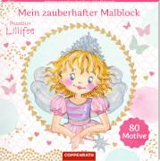 Prinzessin Lillifee - Mein zauberhafter Malblock, gebundenes Buch, 160 Seiten, 80 Motive, ab 5 Jahren
