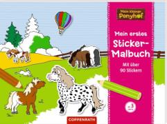Mein erstes Sticker-Malbuch - Mein kleiner Ponyhof