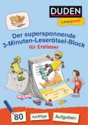 LP 3 Min. Rätselblock superspannend Erstleser