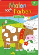 Malen nach Farben Bauernhof, Taschenbuch, 64 Seiten, ab 4 Jahren