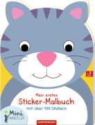 Mein erstes Sticker-Malbuch: Katze (Mini-Künstler)