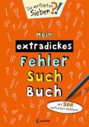 Mein extradickes Fehler-Such-Buch (orange)